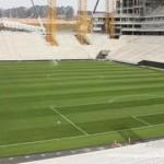 Arena Corinthians terá climatização no gramado
